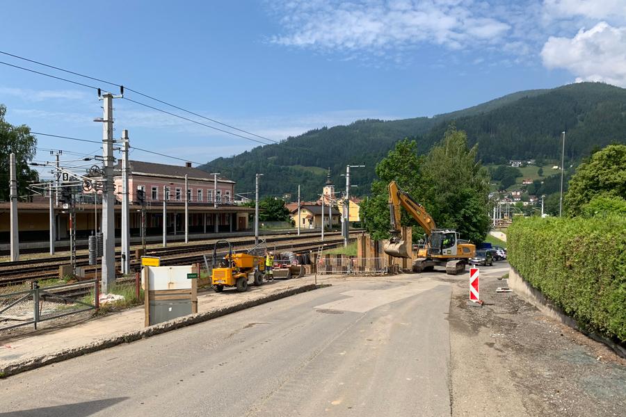 Bauamt Stadtgemeinde Mürzzuschlagzielgrubebahnquerungmaierhoferbach